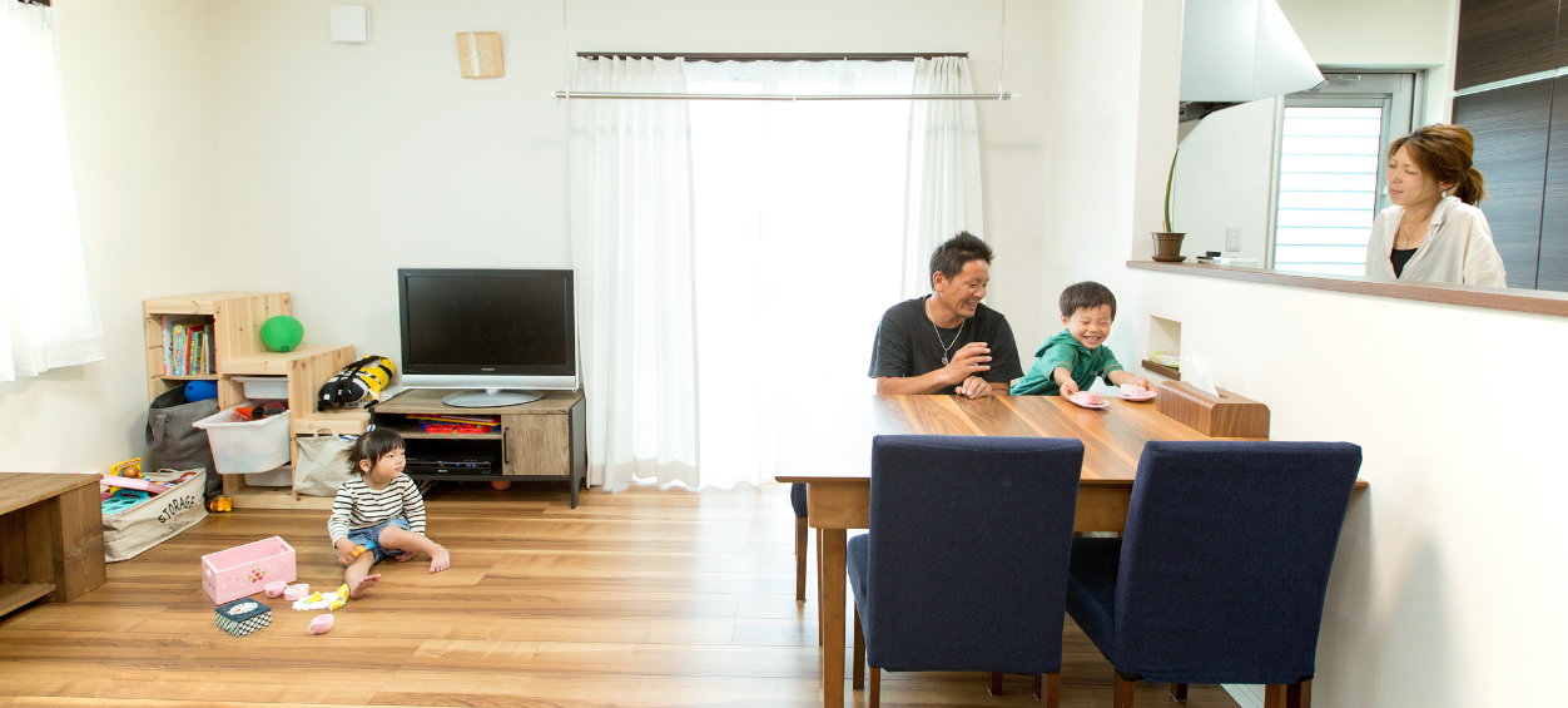 家族の笑顔と絆を守る安心で快適な家