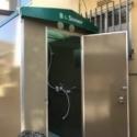 簡易ユニットシャワー組立